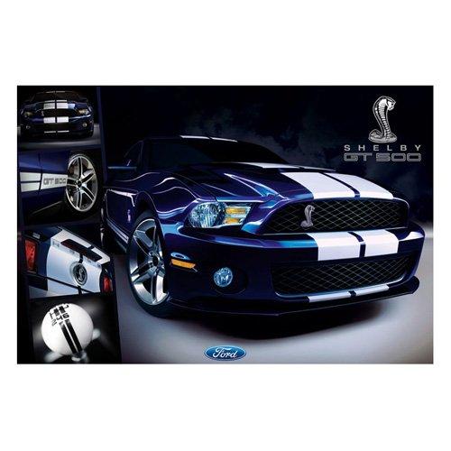 poster-ford-motiv-shelby-gt-500