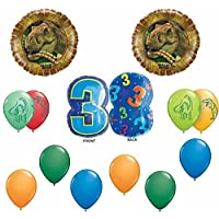 Dinosuar Happy 3rd Birthday Balloon Decoration Kit by Dino Dan