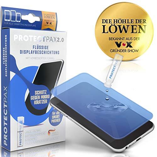 ProtectPax 2.0 Flüssiger Bildschirmschutz aus der Fernsehshow die Höhle der Löwen - innovativer Bildschirmschutz für alle Handys und Marken