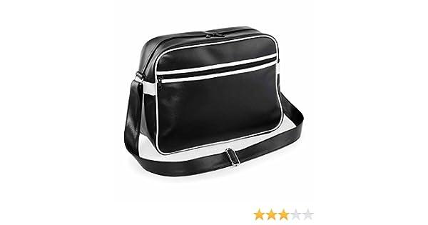 Medium Bag Base Mixte de Bg091bkwh Original Retro Classique Noir//Blanc Bg091