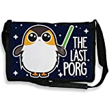 Sac bandoulière ' The Last Porg ' Porg et son sabre laser Jedi, Star wars geek, Chibi et kawaii by Fluffy chamalow - Chamalow shop