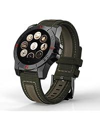 ONEMORES(TM) Sport Outdoor Waterproof Smart Watch Light Test Heart Rate Barometer (Black)