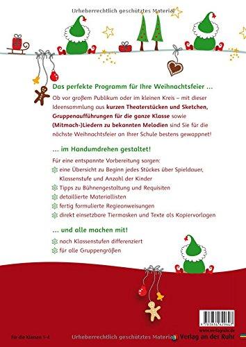 Günstige Weihnachtsfeier.20 Mini Aufführungen Für Weihnachtsfeiern In Der Grundschule Schöne Gedichte Sketche Lieder Und Theaterstücke Mit Wenig Aufwand