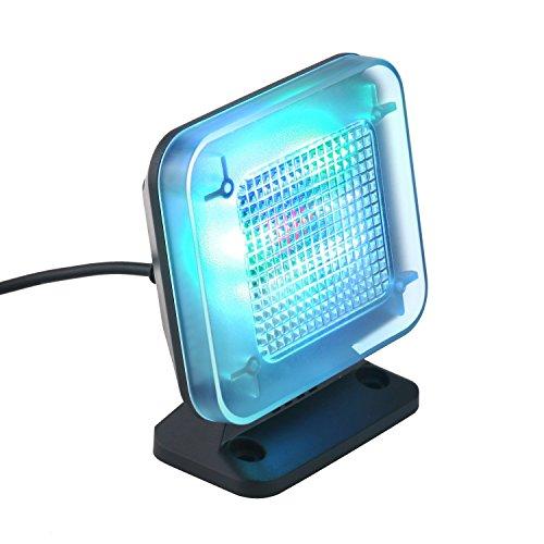DECKEY LED TV Simulator mit 3 wählbar Programme, Mini Fake TV (Fernsehlicht Imitation für Einbruchschutz), Fernsehsimulator/Fernseh-Attrappe,mit 12 LEDs und Zeitschaltuhr