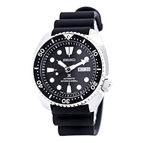 Seiko Prospex Mens Turtle Divers Automatic Watch, 200M, Rubber Strap - SRP777J1 (Made in Japan)