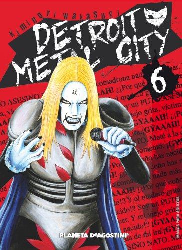 Detroit metal city nº 06 por Kiminori Wakasugi