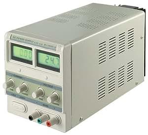 Wentronic Stabilisiertes Labornetzgerät bis zu 3 Ampere mit LCD Display