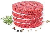 500 Blatt Burgerpapier - Burger Patty Trennblätter mit 11 cm Durchmesser - Wachspapier, Trennpapier, Pattie Papeir, Antihaftpapier Zuschnitte, Backpapier für Hamburger und Frikadellen aus Burgerpresse