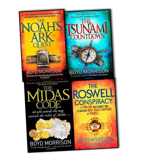 Boyd Morrison Tyler Locke 4 Books Collection(The Tsunami Countdown, The Midas... par Boyd Morrison