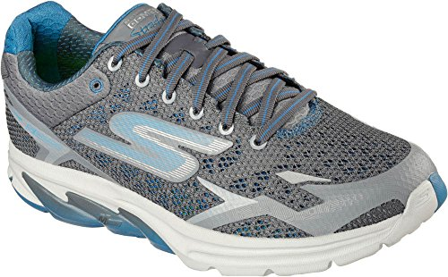 Skechers Mens Go Meb Strada 2 Breathable Cushioned Track Running Shoes CCBL