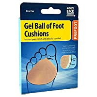 Profoot Soft Gel Ball of Foot Cushion - for Metatarsalgia, Morton