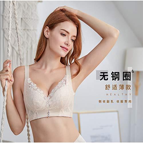 Tianyifeng Graphen kein Stahlring BH ohne Schwamm Einstellung Typ Milch Unterwäsche bequem sammeln große Dünnschliff Farbe 85E erhalten -