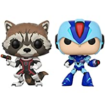 Pop Marvel Capcom Rocket vs. Megaman Vinyl Figure 2 Pack