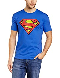 DC Comics Men's Superman Crackle Slim Fit T-Shirt