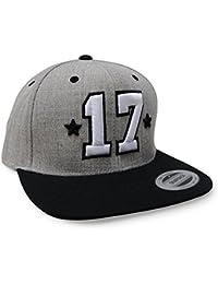 HI 5   17 Star Baseball Snapback Cap 2017 Sweet Seventeen mit 3D Stick