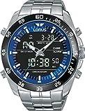 Lorus Watches Herren Analog-Digital Quarz Uhr mit Edelstahl Armband RW629AX9