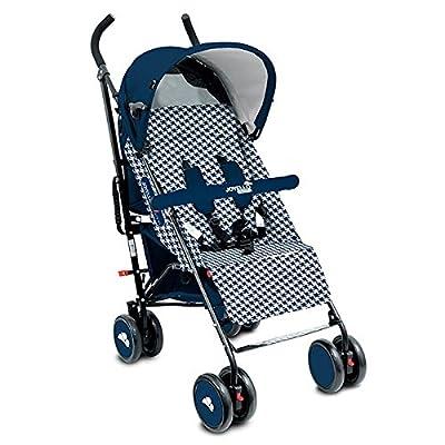 Joycare Kinderwagen Musino White Pied de Poule/Blue 2017