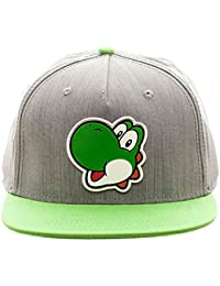 Super Mario Bros. Yoshi Ruber Sonic Weld Snapback Gorra De Béisbol