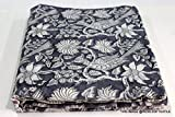 #5: 2.5 Meter 44'' width Cotton Hand Block Print Running Fabric Meter for Dress Making Crafting