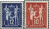 DDR 243-244 (kompl.Ausg.) 1949 Post Gewerkschaft (Briefmarken für Sammler)