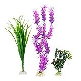 Sourcingmap Kunststoff Aquarium Künstliche Wasser Pflanze