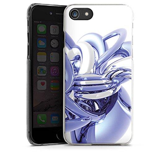 Apple iPhone X Silikon Hülle Case Schutzhülle Knoten Chrom Eis Hard Case transparent