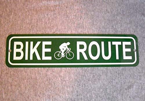 Dozili Metallschild für Fahrrad, Fahrrad, Straße, Rennrad, Radfahrer, Mountainbike, Garage, Mann Höhle (Foto-würfel Für Iphone)