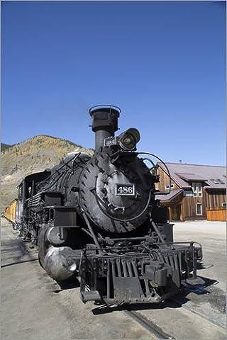Leinwandbild 80 x 120 cm: Durango & Silverton Narrow Gauge