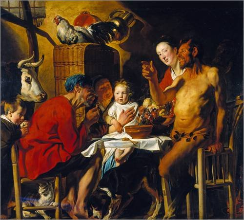 wood-print-110-x-100-cm-the-satyr-and-the-peasant-after-1620-by-jacob-jordaens-artothek