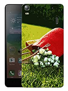 """Humor Gang Flowers And Garden And A Bag Printed Designer Mobile Back Cover For """"Lenovo A7000 - A7000 Plus - A7000 Turbo"""" (3D, Matte Finish, Premium Quality, Protective Snap On Slim Hard Phone Case, Multi Color)"""