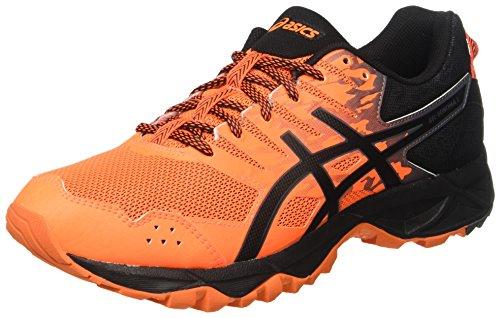 Asics Gel-Sonoma 3, Zapatillas de Deporte para Hombre, Naranja (Shocking Orange/Black/Carbon), 44.5 EU
