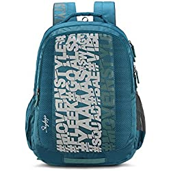 Skybags Bingo Plus 35.9856 Ltrs Sea Green School Backpack (SBBIP03SGN)