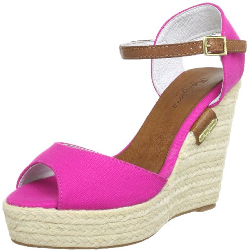 Pepe Jeans London MLD-270 A PFS90215 356 Damen Sandalen Pink (Disco Pink)