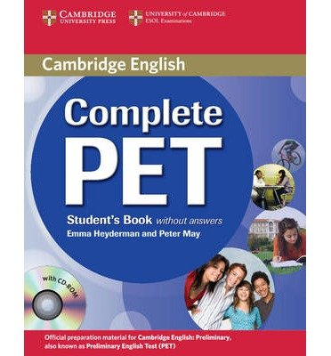 Complete PET Student's Book without Answers with CD-ROM (Complete) (Mixed media product) - Common