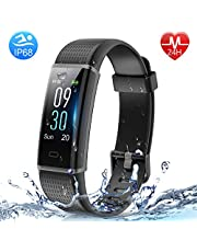 HolyHigh Smart Bands IPX68 Waterproof Fitness Watch Heart R