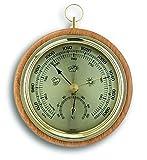 TFA Luftdruckmesser aus Buchenholz, 108mm
