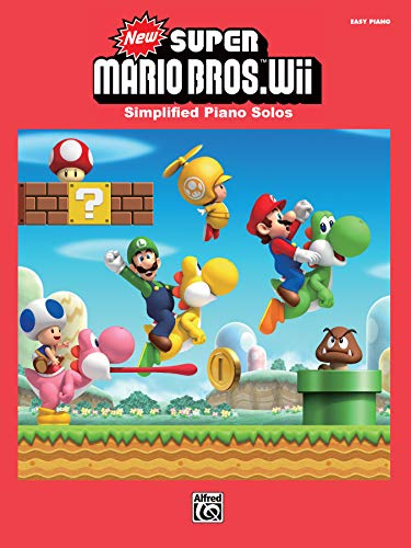 New Super Mario Bros. Wii  |  Klavier  |  Buch