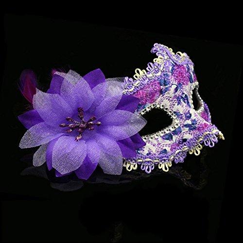Halloween-Party-Maske Prinzessin Tanzmaske Maske Schönheit halbe Gesichtsmaske cosplay Requisiten ( Farbe : 3 )