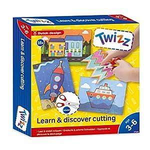 Twizz 67006 Descubre y aprende Cortes, Multicolor