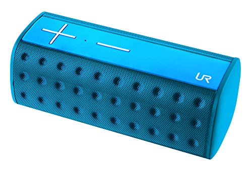 Trust Urban Deci - Altavoz portátil Bluetooth de 20W (resistente a salpicaduras IPX4), azul