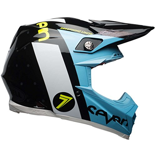 Bell Helm Moto-9 Carbon Flex Schwarz Gr. M