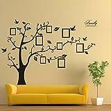 Ouneed® Wandaufkleber Wandtattoo Wandsticker , 180 * 250 cm 3D DIY Foto-Baum PVC Wandaufkleber Adhesive Wandaufkleber Wandkunst Home Decor