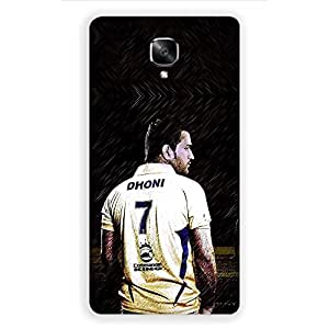 OnePlus 3 MS Dhoni,Mahi Cricket Team India Design printed hard plastic polycarbonate material mobile phone case/cover by Red Hot Gifts and more