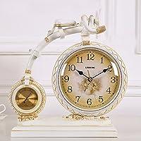 ZHGI Stile europeo creativo dell'orologio, orologio moderno salotto, muto semplice