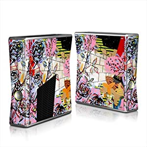 MyGift Night In The Garden Design Protector Skin Decal Sticker for Xbox 360 S Game Console Full Body