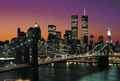 1art1 40563 New York - Manhattan 8-teilig, Fototapete Poster-Tapete (368 x 254 cm) von 1art1 auf TapetenShop