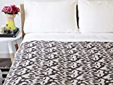 GANESHAM Indische handgefertigte Ethno-Bettwäsche, Zwillingsgröße, Heimdekoration, Vintage-Stil, Baumwolle, King-Size-Größe
