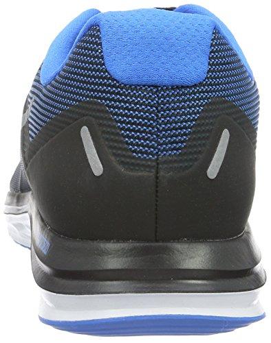 Nike Dual Fusion X 2, Scarpe da Corsa Uomo Multicolore (Black/Mtlc Cl Gry-Pht Bl-White)