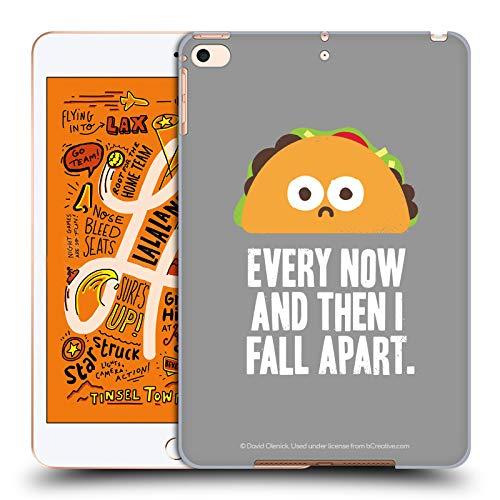 Head Case Designs Offizielle David Olenick Taco Eclipse des Herzens Essen Harte Rueckseiten Huelle kompatibel mit iPad Mini (2019) Eclipse-essen