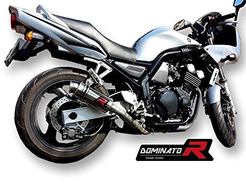DB KILLER Dominator Exhaust silenziatore scarico YAMAHA FZS 600 FAZER 98-03 GP I